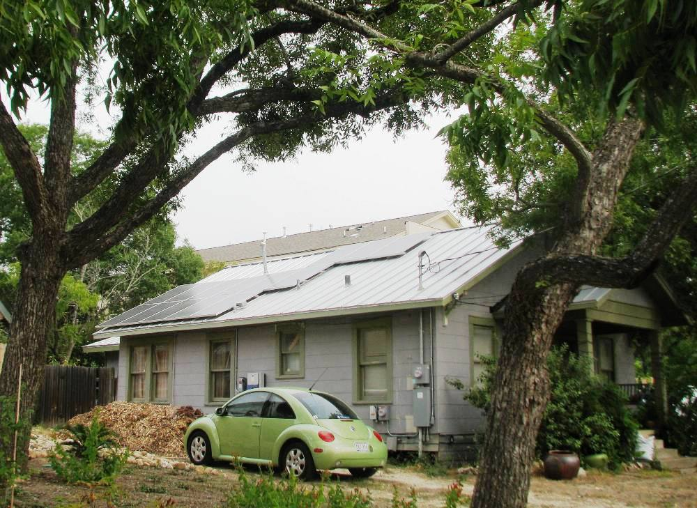3 kWh of PV panels were added  to Bungalow