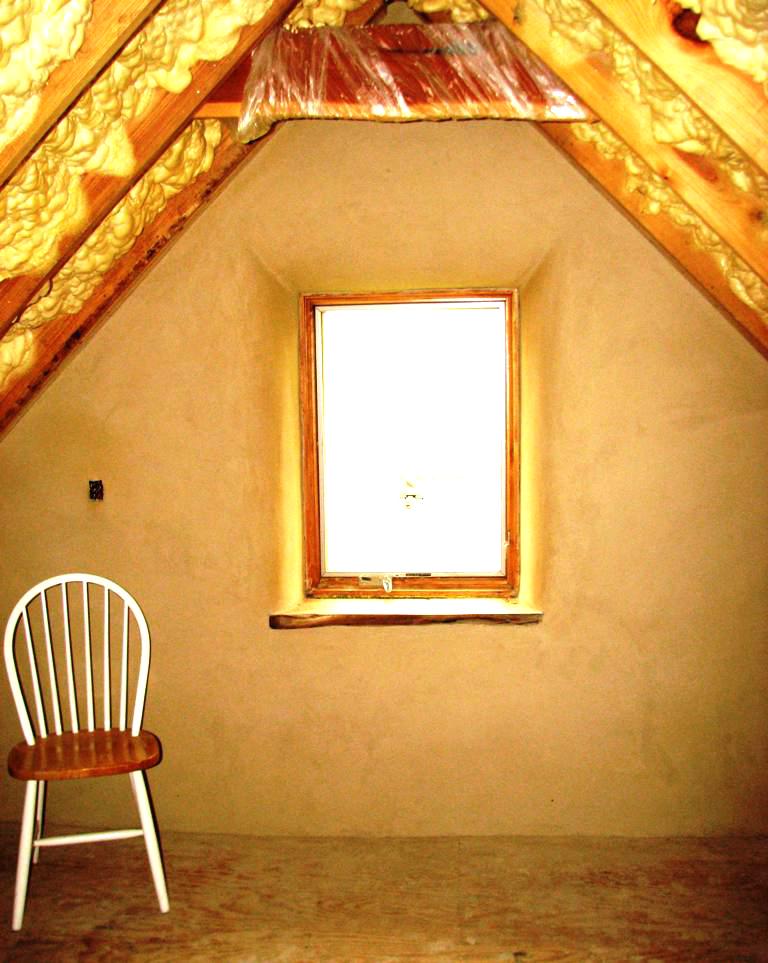 Office window at loft