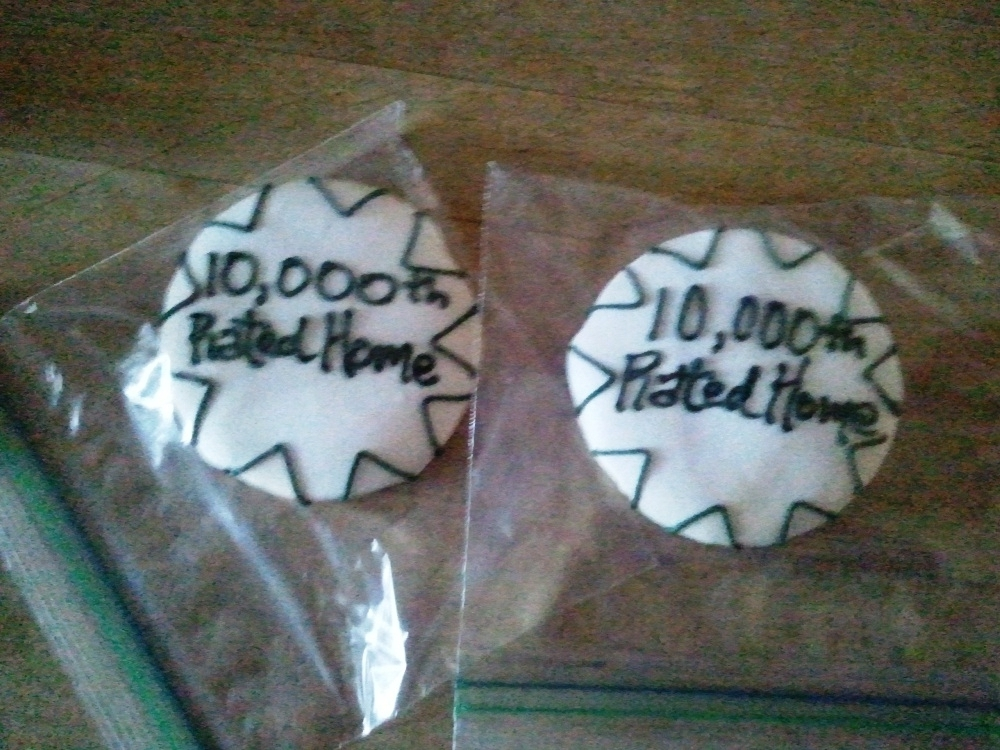 10,000th Green Builder Award Ceremony Cookies!